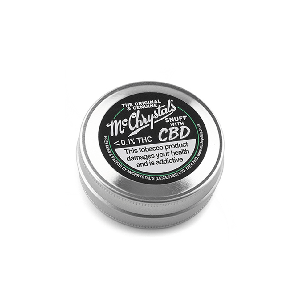 Mc Chrystals Snuff Tin